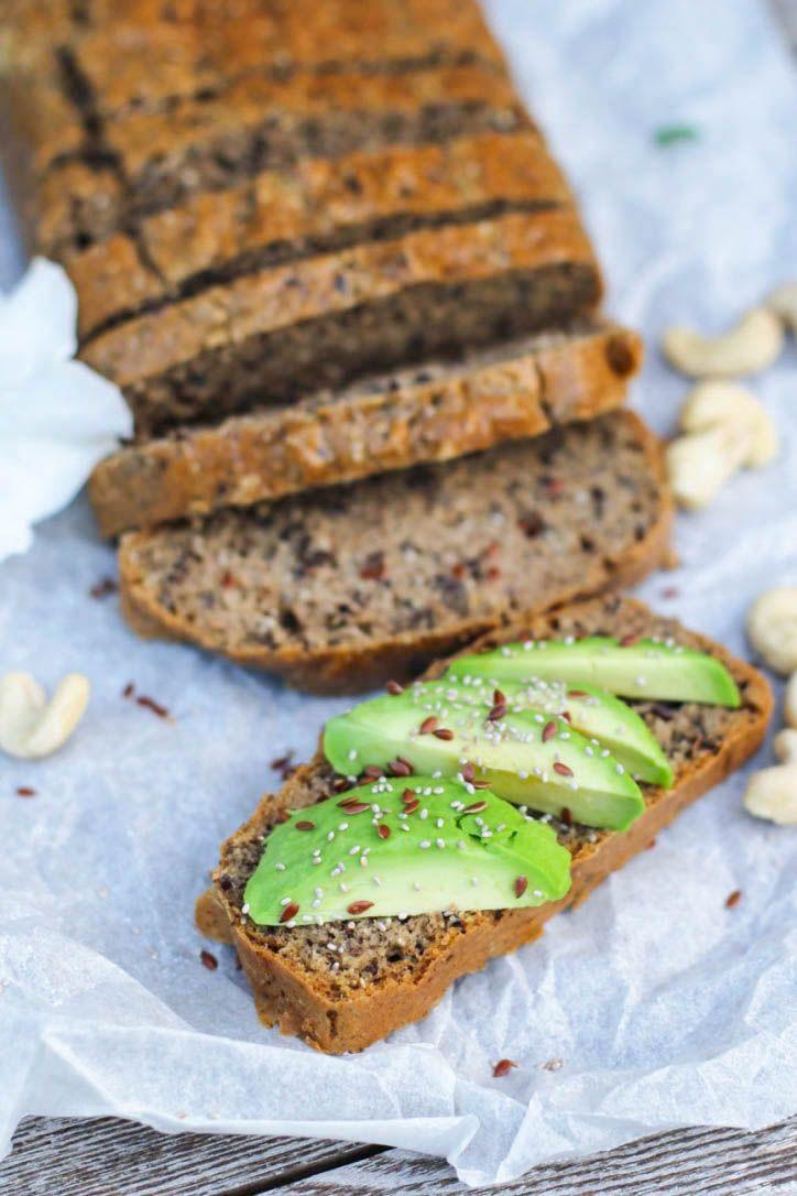 Gluten Free Cashew Bread — Rebecca Sturgess - Clinical Nutritionist - All About Health