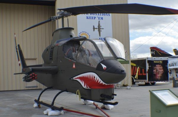 Bell AH-1 Cobra attack/support helicopter at Palm Springs Air Museum.