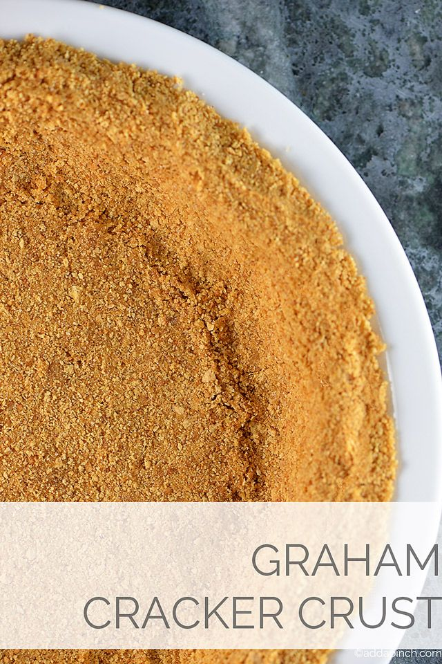 Simple Graham Cracker Crust Recipe from addapinch.com