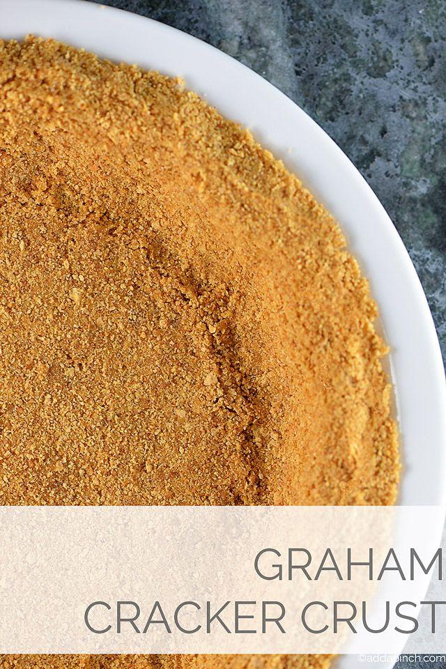 Simple Graham Cracker Crust Recipe from addapinch.com