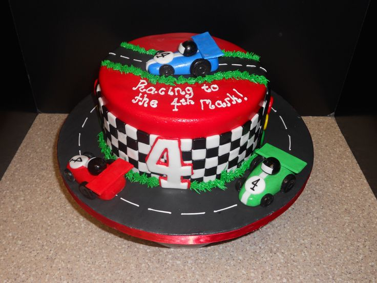 Best Car Cake Dessigns Images On Pinterest Birthday Party