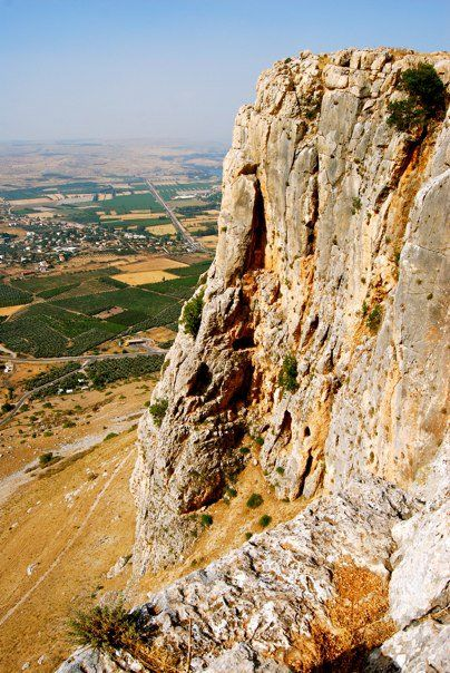 Cliffs of Arbel, Sea of Galilee  Israel  Hiked this, awesome views of the lake