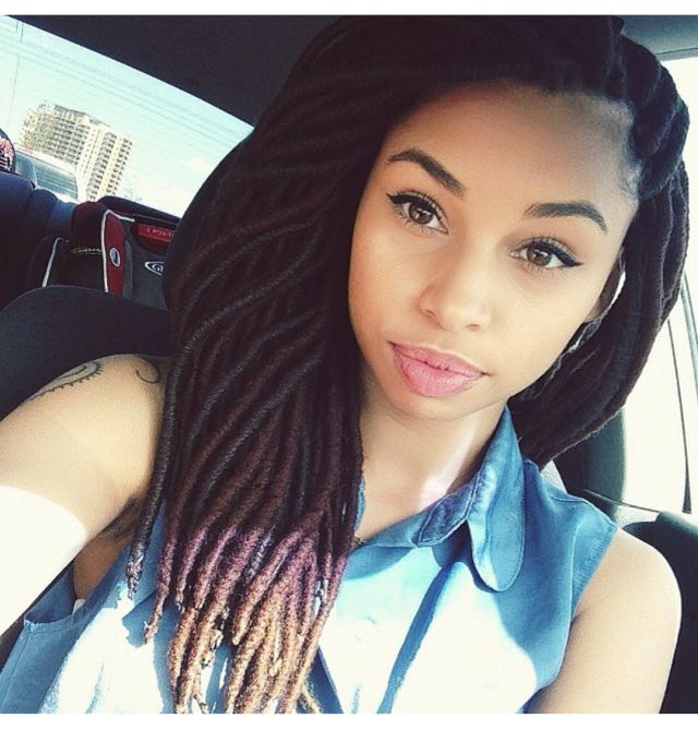 {Grow Lust Worthy Hair FASTER Naturally} ========================== Go To: www.HairTriggerr.com ========================== Wow! Her Faux Locs Are the Cutest!!!