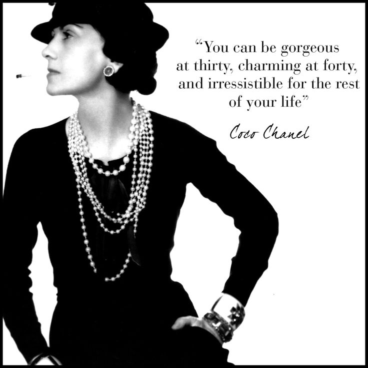 by coco chanel fashion quotes quotesgram. Black Bedroom Furniture Sets. Home Design Ideas