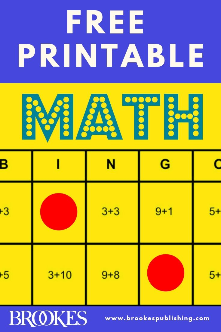 Math Bingo Free Printable Game To Help All Students Learn Math Facts Brookes Blog Math Bingo Math Facts Math