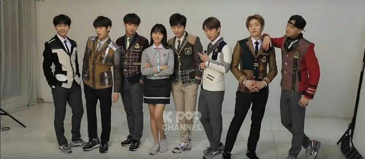 BTOB with Kim So Hyun