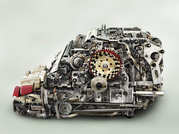 The Beautiful Guts of Classic Mechanical Calculators
