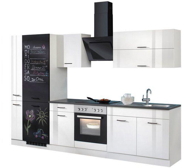 Kuchenzeile Brindisi Mit E Geraten Breite 280 Cm In 2020 Schrank Kuche Kuchenzeilen Und Kuchendesign
