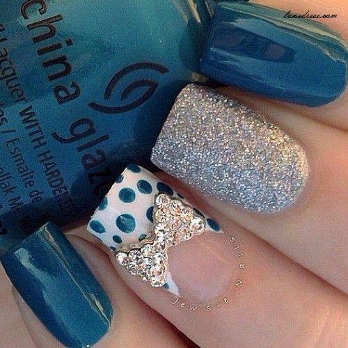 nail design that's super cute..