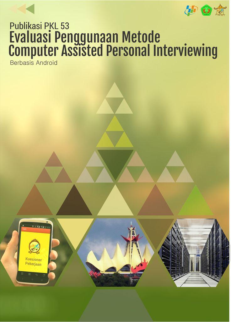 Design Cover Publikasi CAPI PKL 53