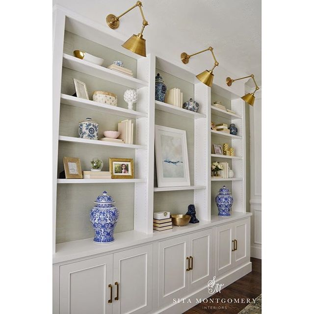 Built In Bookshelves Decorating Ideas 95 Best Builtin Makeover Ideas Images On Pinterest  Bookcases