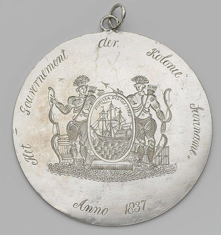 De afschaffing van de slavernij in Brits-Guyana in 1834 leidde tot onrust onder de slaven in het nabijgelegen district Nickerie in Suriname. klik voor meer info