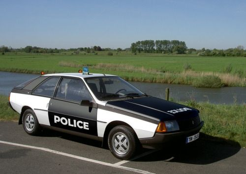 French-Cars-since-1946 • 1981 Renault Fuego Police...