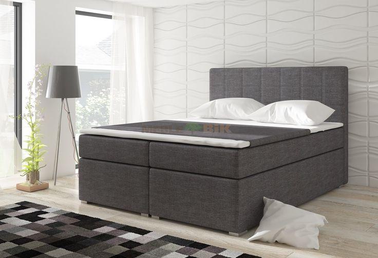 Łóżko kontynentalne Alice 160x200 lub 180x200 - ELTAP - sklep meblowy Meble BIK