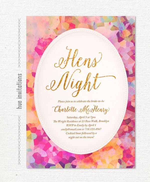 Best 25 Hens party invitations ideas – Hen Party Invitation