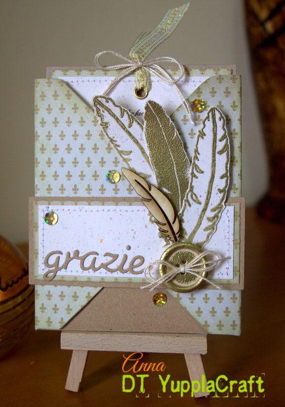 """Card per dire """"grazie""""  #yupplacraft"""