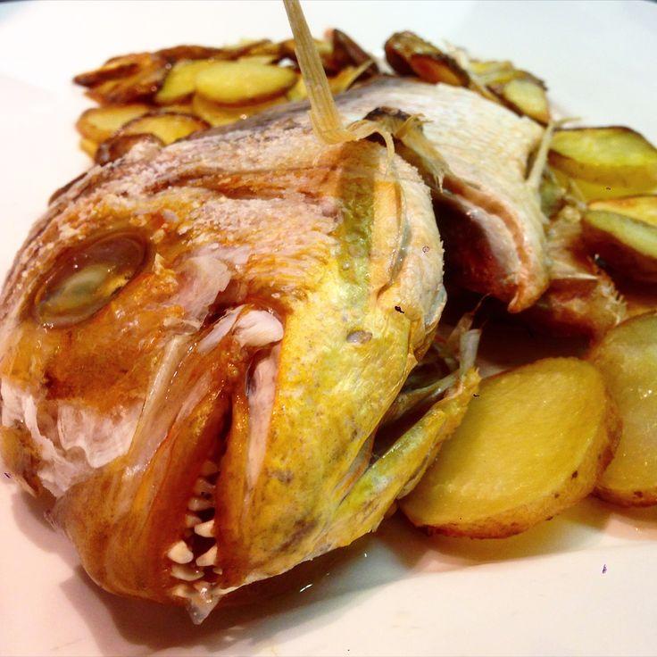 Fragolino al forno con patate  EX Grosseto  www.sugofinto.it