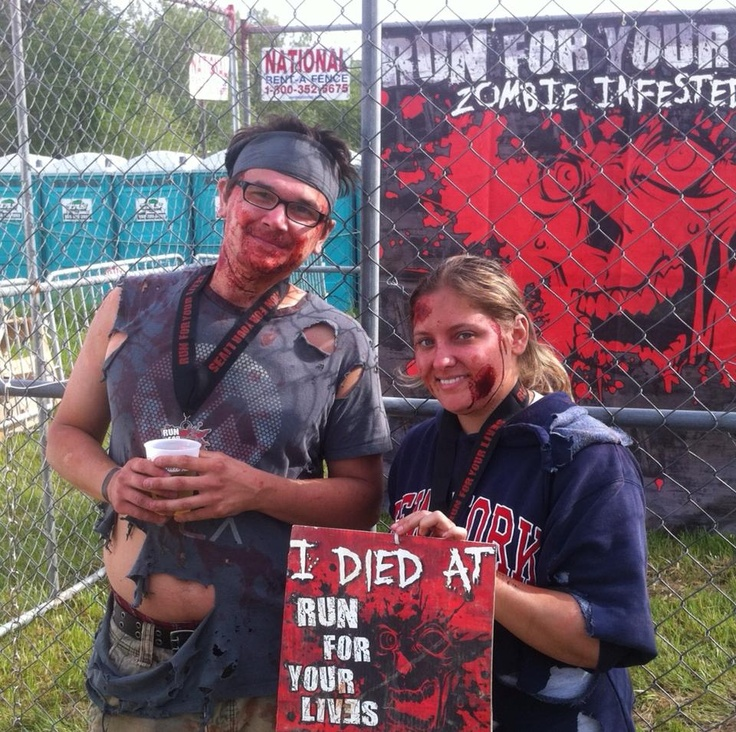 Zombie 5K Run For Your Lives Running 5k, Zombie 5k, Fit
