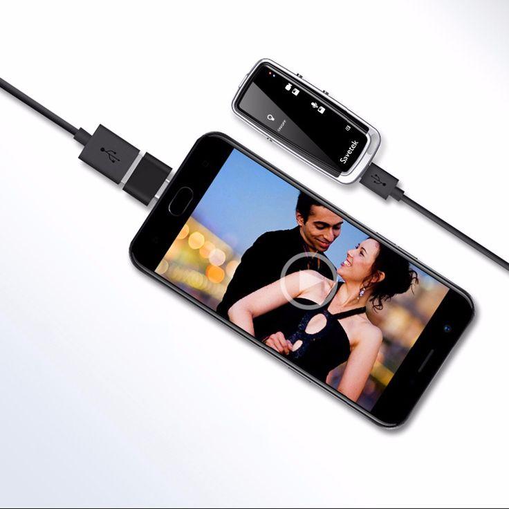 XANES MC01 <b>Mini</b> 480P Digital Voice <b>Recorder Camera Recording</b> ...