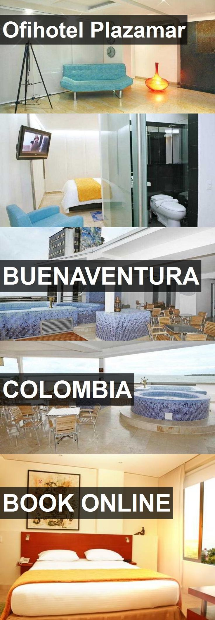 Ofihotel Plazamar in Buenaventura, Colombia. For more information, photos, reviews and best prices please follow the link. #Colombia #Buenaventura #travel #vacation #hotel
