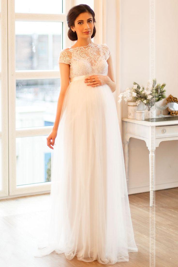 Свадебное платье для беременных  (image 1)