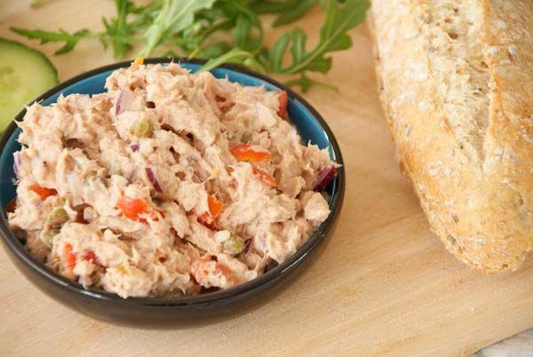 Makkelijke en gezonde tonijnsalade