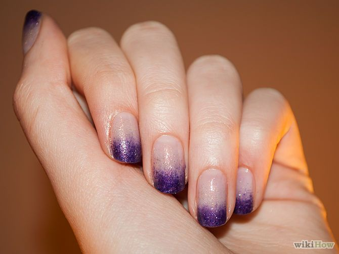 4 Ways to Do Dip Dye Nails - wikiHow
