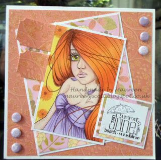 Handmade by Maureen - A Blog: Summer Challenge and Blog Hop with Crafting by Designs