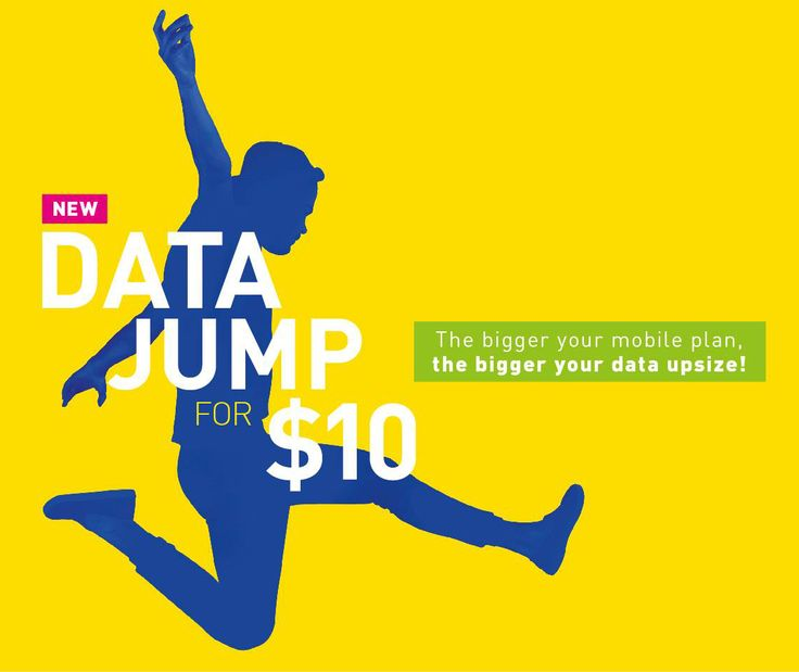 It's time to make your DataJump! Add more data to your mobile plan for just $10 per month. The bigger your plan, the bigger your data upsize. Applicable to 4G 4 and above plans, including SIM Only. #StarHub #Singtel #m1  Terms and conditions apply.