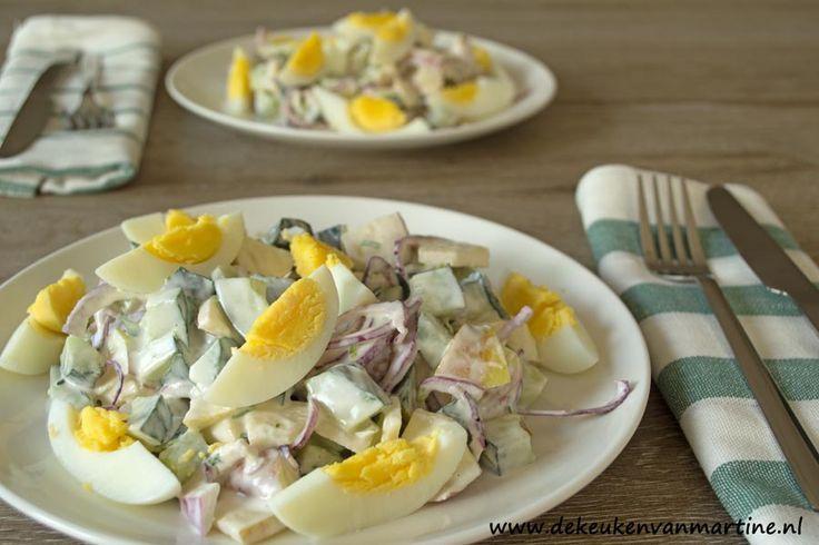 Goud van oud: Ei van Columbus salade