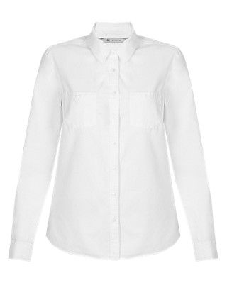 Pure Cotton Oxford Shirt Clothing