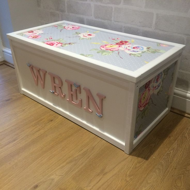Toy Box Large Solid Wood Storage Chest Trunk Playroom: Best 25+ Kids Toy Boxes Ideas On Pinterest