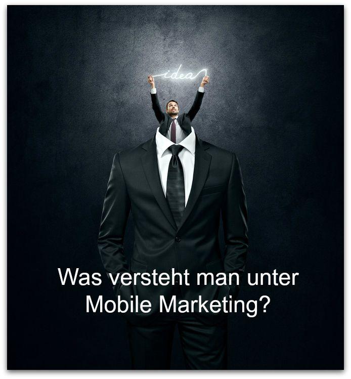 Mobile Marketing beinhaltet, ganz einfach gesagt, jene Marketingmaßnahmen, die für die Verwendung auf mobilen Endgeräten der Zielgruppe bestimmt sind.  Neben klassischen Werbeeinschaltungen auf Mobilgeräten, bietet das Mobile Marketing unterschiedlichste Anwendungsmöglichkeiten, wie Spiele, Alerts und Zahlungsmechanismen.