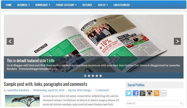 Tamplate Blogger ProMagazine