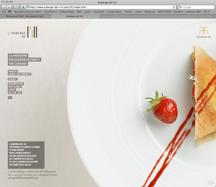 web design, really like the big picture