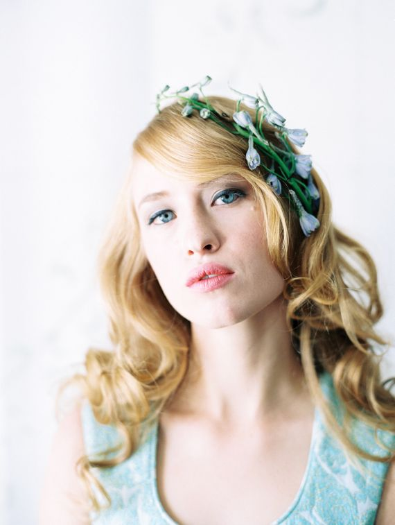 Spring floral beauty inspiration | Photo by DArcy Benincosa | 100 Layer Cake | Hair and Makeup By April Benincosa