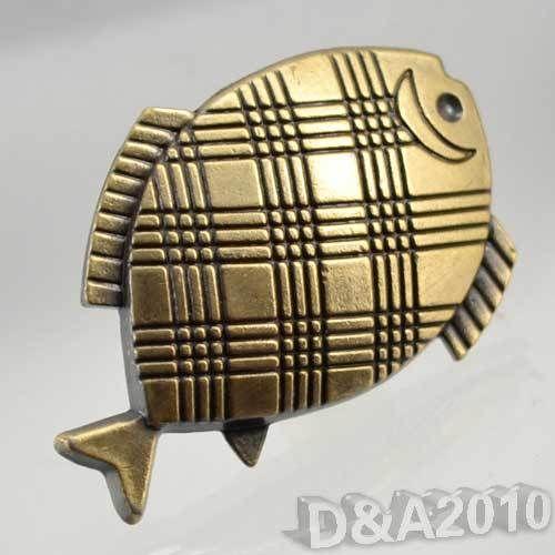 Alta qualitycatoon pesci tropicali mobili maniglia del cassetto armadio armadio guardaroba pull knob(China (Mainland))