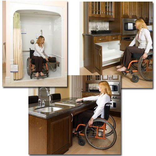 17 best images about kitchens universal access on - Bathroom modifications for disabled ...