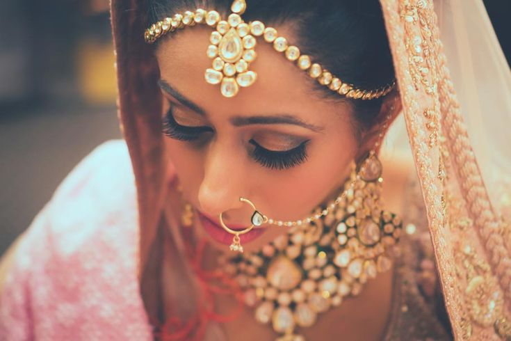 A Bridal Makeover for Duhita Chadha of WeddingSutra by Ablaze by Simran.