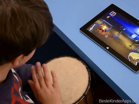 Rhythmic Village App: Musik-Lernspiel bringt Kindern das Notenlesen bei