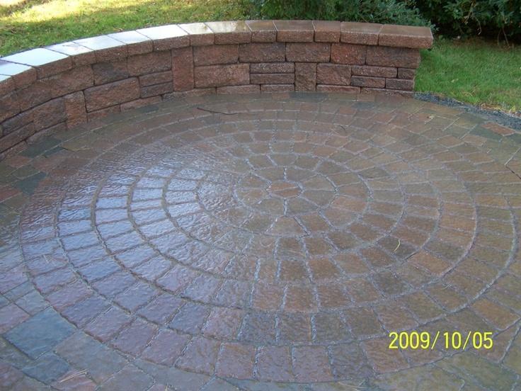 Circular Patio, Patio Ideas, Backyard Ideas, Garden Ideas, Backyard Patio,  Outdoor Projects, Patios, Holland, Outdoor Spaces