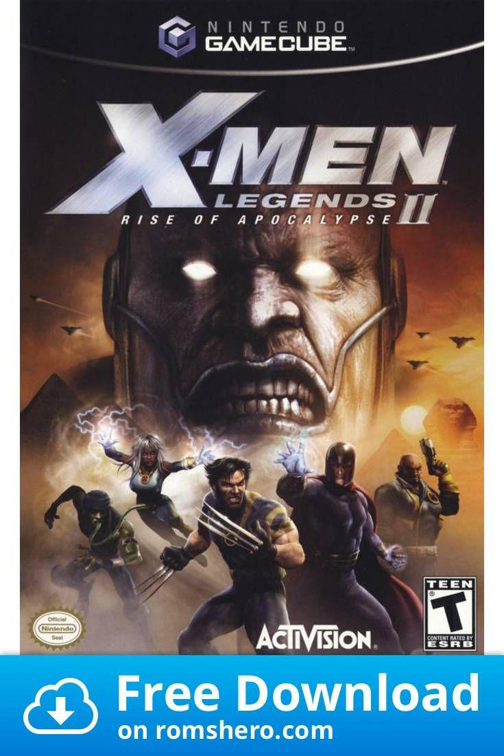 Download X Men Legends Ii Rise Of Apocalypse Gamecube Rom In 2020 Apocalypse Gamecube X Men