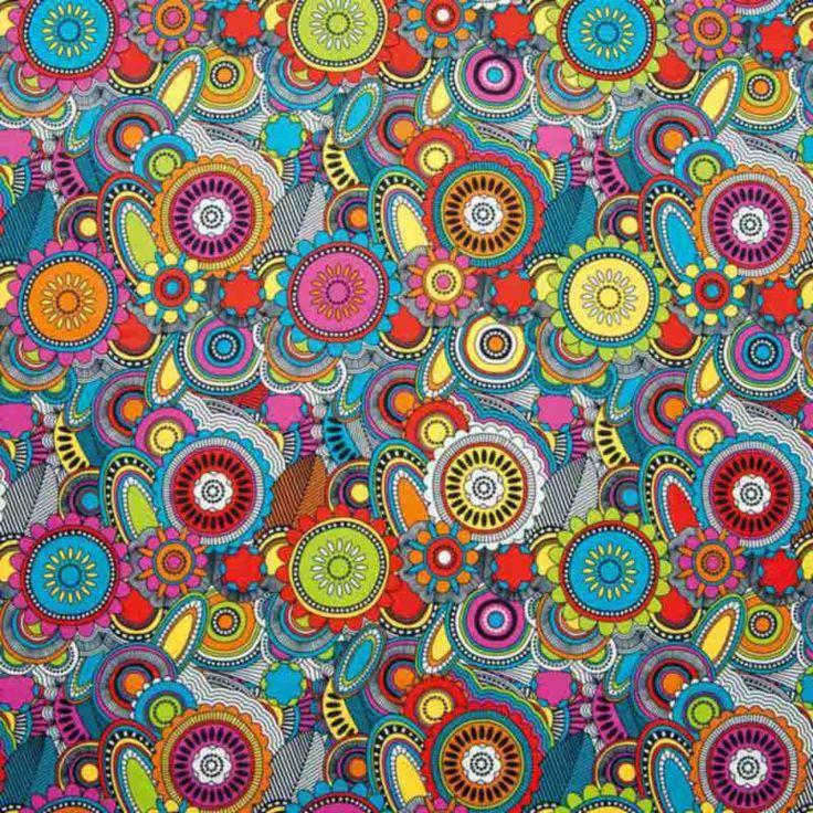 Warwick Fabrics : HOLIDAY ISLE, Colour SUNRISE