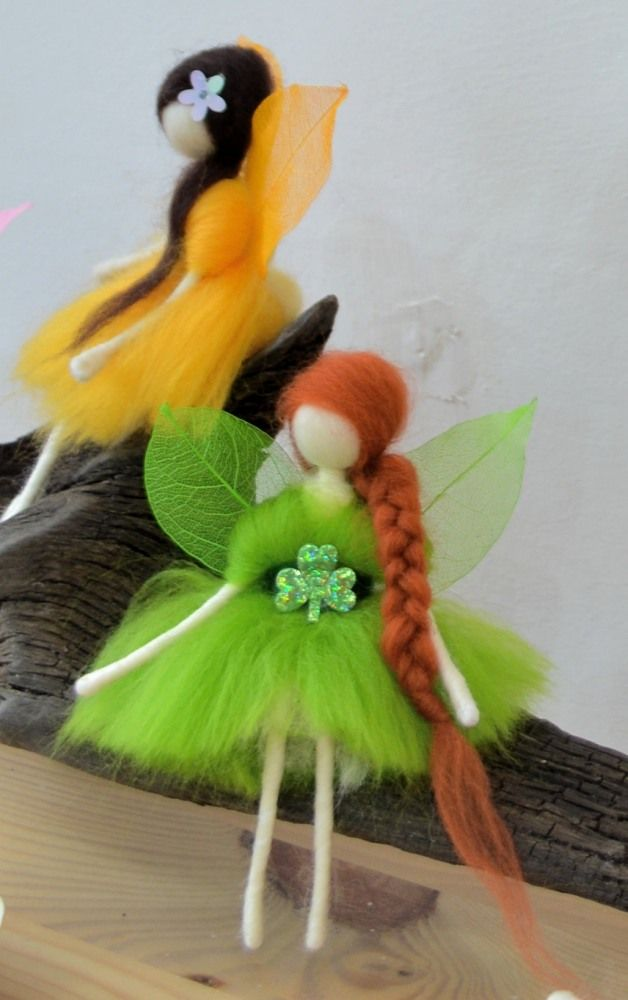 Felt Fairies by Stephanie Tenier @Feltastik