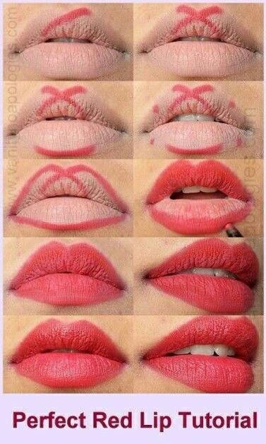 The perfect red lip tutorial from Stylish Eve!