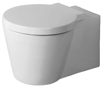 small simple loo by philippe starck for upstairs mini wc