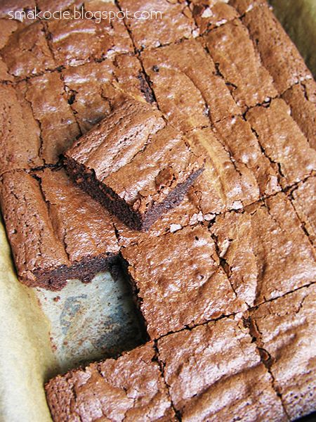 Smakocie i Łakołyki: Brownies idealne!
