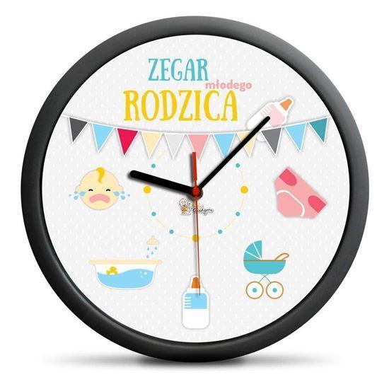 Zegar Młodego Rodzica idealny prezent na Baby Shower :).