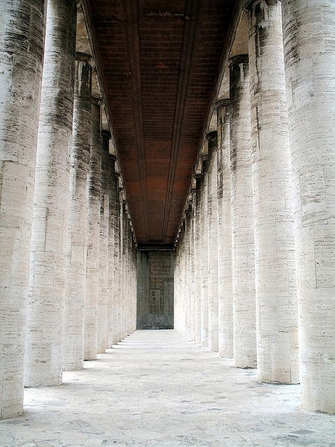 Rome - EUR, Museo della Civiltà Romana by gengish, via Flickr.