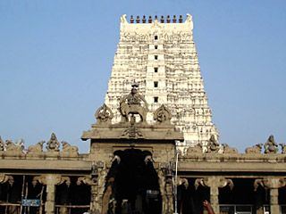 Ramanathaswamy temple is located on an island of the Sethu coast of Rameshwaram.